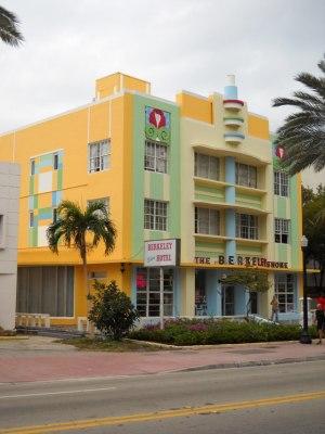 Miami Beach art deco vom Feinsten