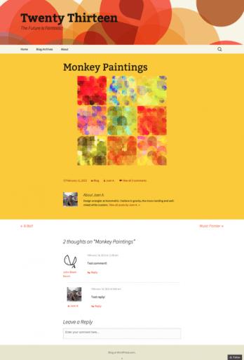 Monkey-Paintings-Twenty-Thirteen