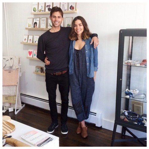Danny & Lindsay, owners of Makers Making
