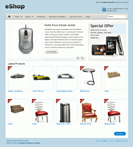 eshop-premium-ecommerce-wordpress-theme from templatic