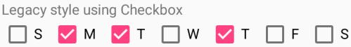 Checkbox style screenshot