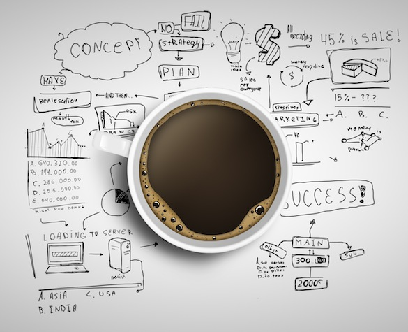 coffee and  business strategy