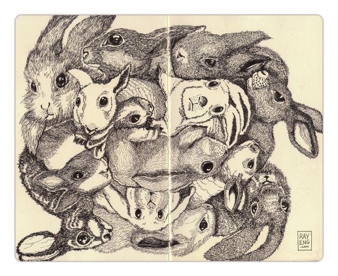 Rabbits-8x10