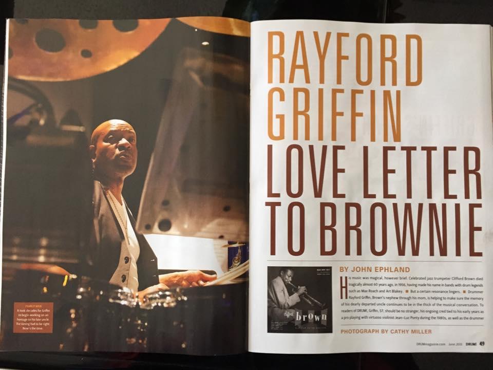 Rayford Griffin, Drum Magazine