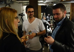 Raymi talks with Lee and Adam Green from Google