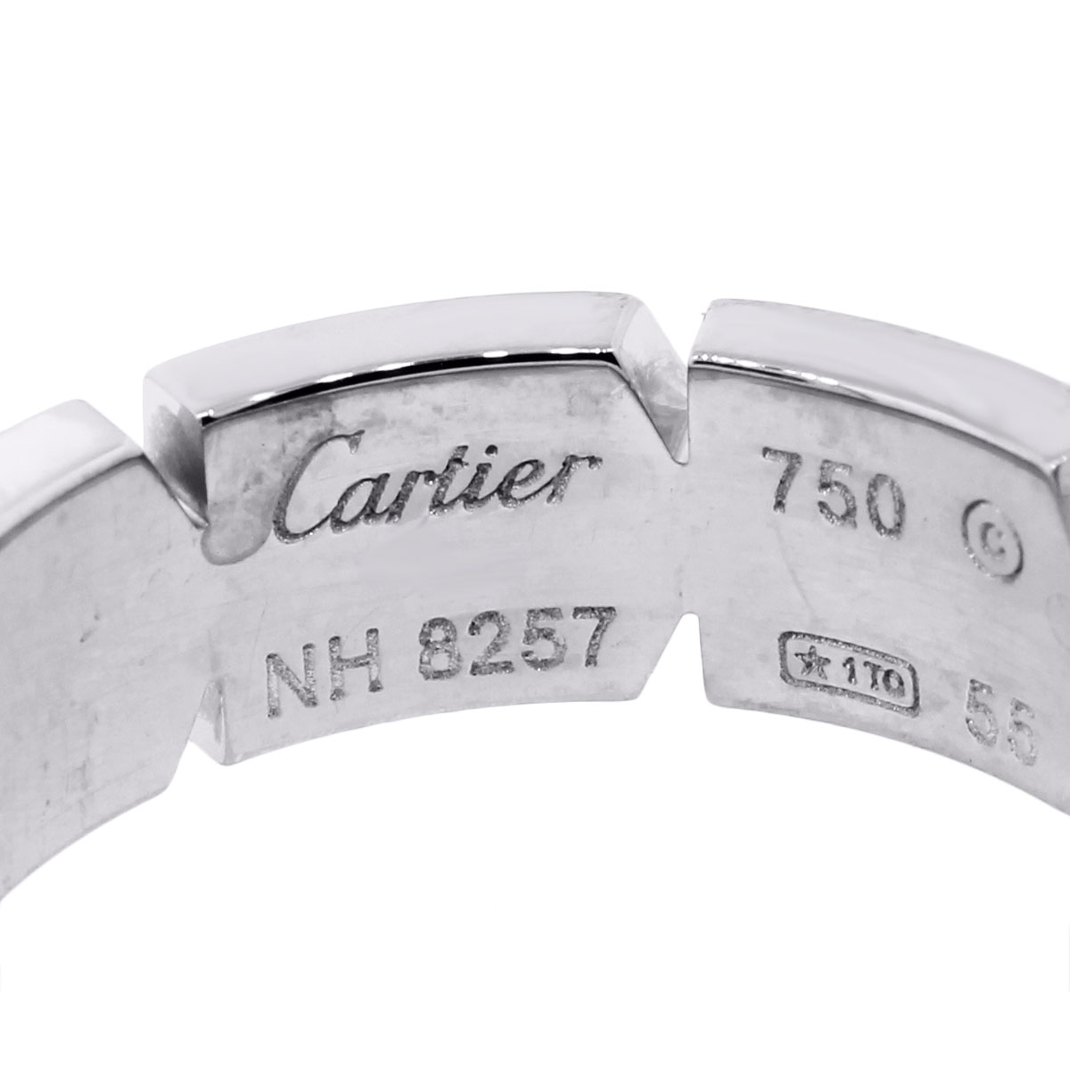 cartier 18k tank francaise diamond wedding band cartier wedding bands cartier jewelry