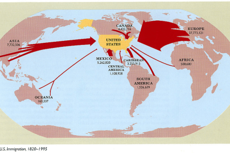 map immigration