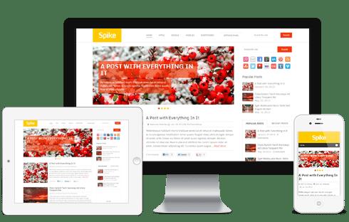 Spike-WordPress-Theme