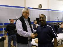 Mayor Bower and School Board Candidate Jerome Barnes