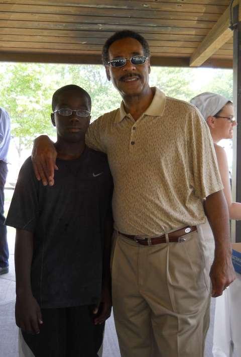 Congressman Cleaver and Jeremi Barnes