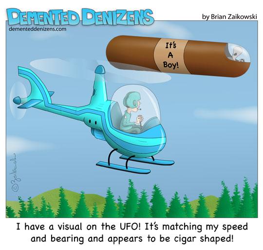 cigar ufo