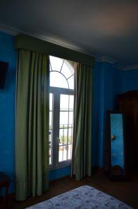Una de las habitaciones con vistas a la marisma