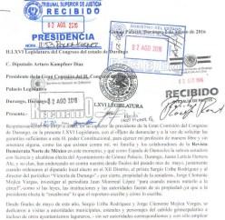 La denuncia del periodista Juan Monrreal López. (Click para agrandar)