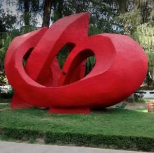 Monumento que hermana a las 3 ciudades que llevan Durango como nombre.