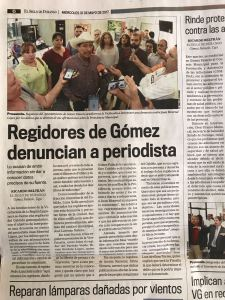 El Siglo de Durango.
