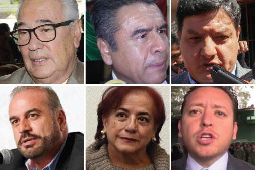 """Media docena de integrantes del gabinete del gobierno """"del cambio"""" están en la mira de la ciudadanía por ineficaces y/o corruptos."""