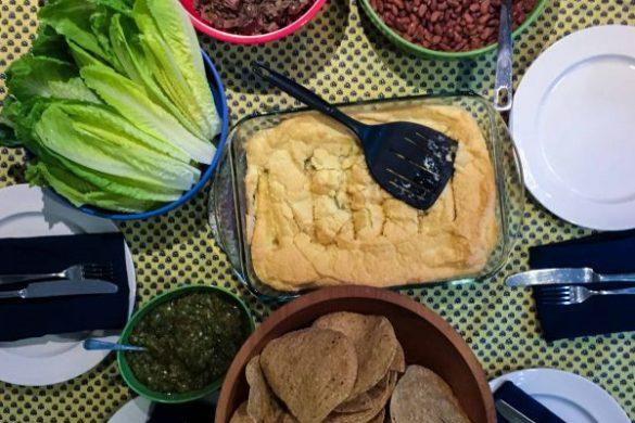 Green Chile Relleno Casserole