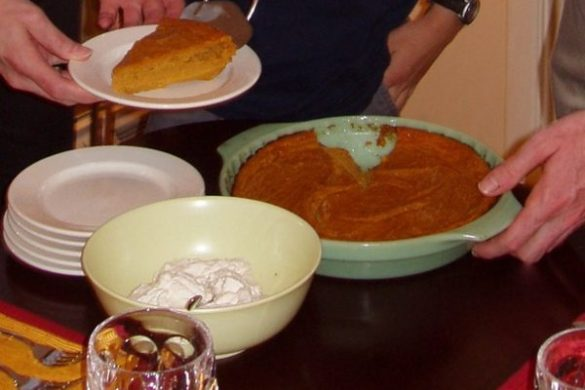 how to make pumpkin impossible pie