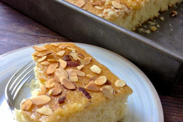 Cornbread Sheet Cake. It's Cake not Sweet Cornbread.