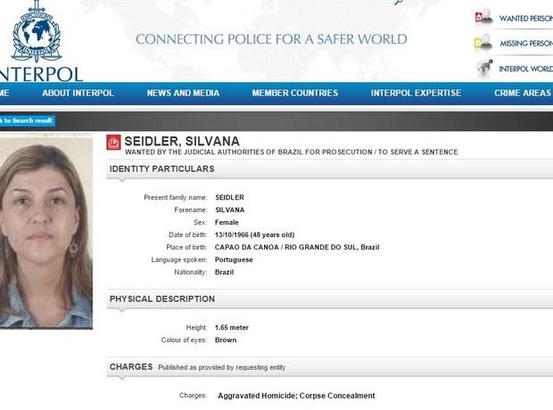 Mãe suspeita de matar filha no Sul de SC é procurada pela Interpol