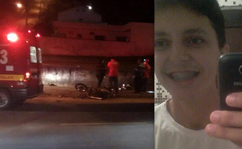 NOVA VERSÃO DO ACIDENTE: Testemunha diz que caminhão estaria ultrapassando quando colidiu com o motociclista