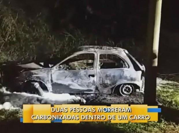 Duas pessoas morrem carbonizadas na divisa entre Pomerode e Blumenau