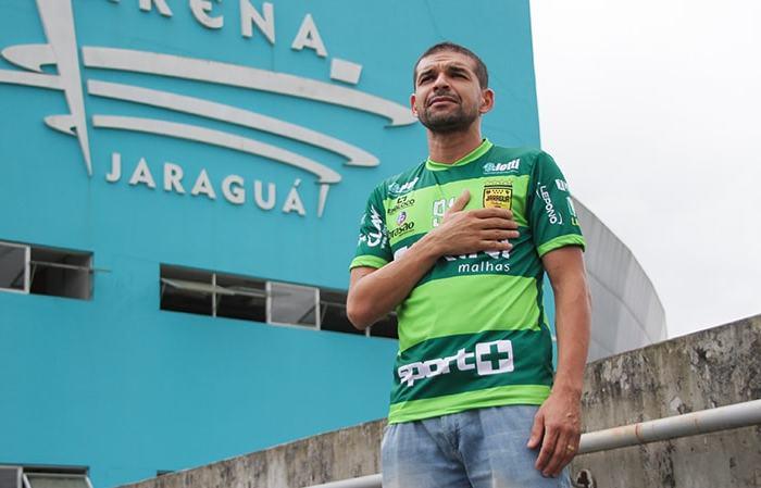 Jaraguá Futsal em quadra pela Chape