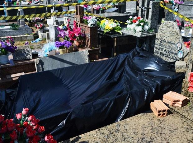 Corpo é furtado de cemitério em Penha, SC