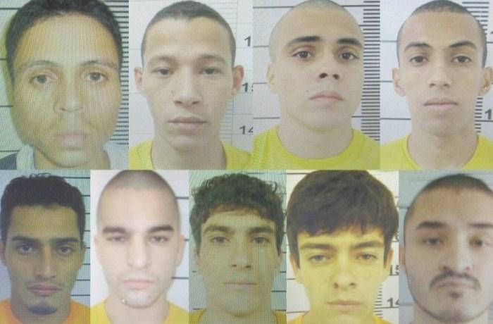 Dez presos fugiram nesta quinta-feira do Presídio Regional de Joinville.