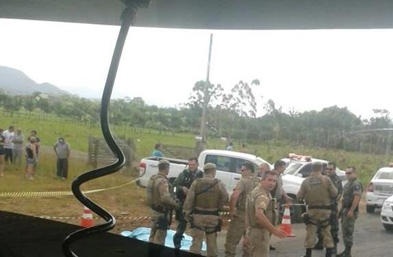 Bandido morre após assalto em Guaramirim
