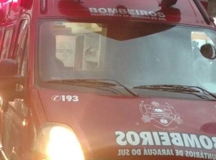 Três atropelamentos e duas quedas de bicicleta são atendidos pelos Bombeiros de Jaraguá do Sul