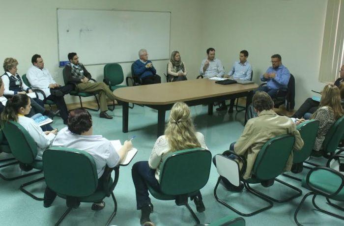 Reunião discute fluxo de transplante no Hospital São José em Jaraguá do Sul