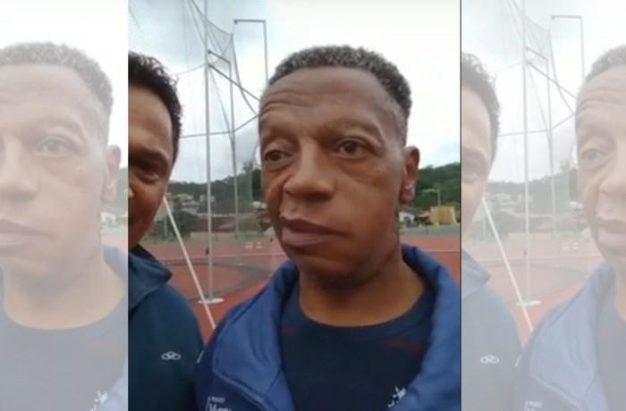 Após complexa cirurgia, Ivanildo retorna a pista de atletismo de Jaraguá do Sul