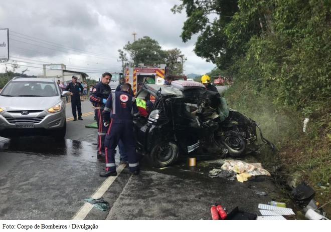 Foto: Corpo de Bombeiros / Divulgação