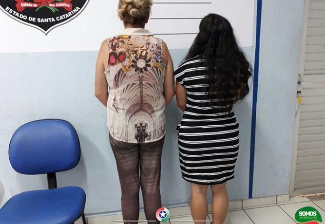 Duas mulheres são presas próximo ao Presídio de Jaraguá do Sul