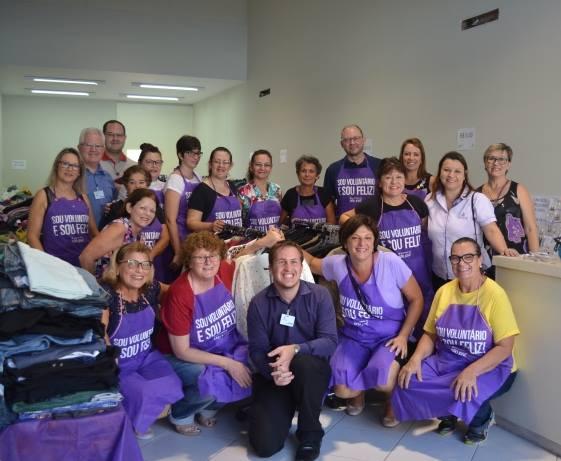 Associação dos Voluntários do Hospital São José realizam 3º Bazar Beneficente