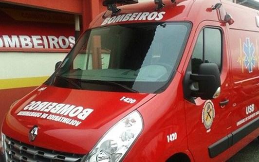 Bombeiros atendem a dois casos de queda de altura em Guaramirim
