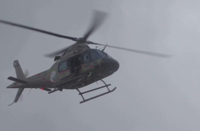 Homem é resgatado pelo Águia após acidente em Guaramirim