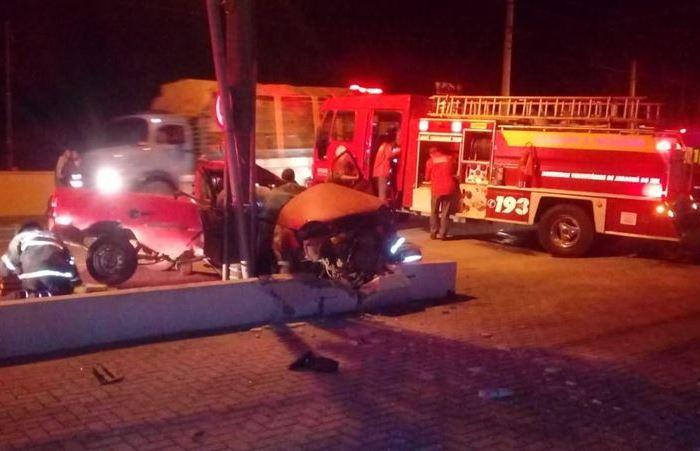 Identificado motorista que morreu após acidente em Jaraguá do Sul