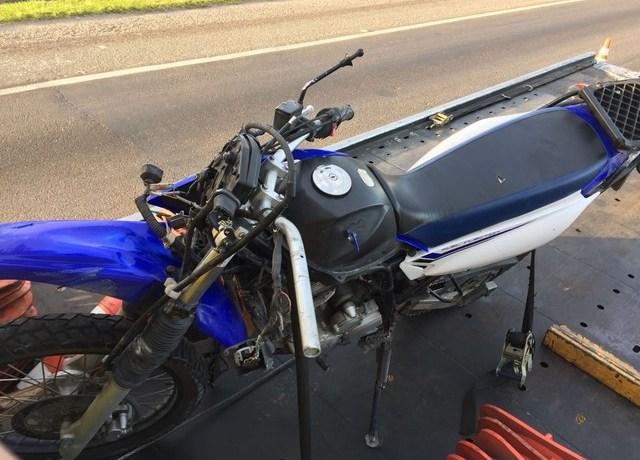 Dois jovens morrem em acidentes com moto em SC