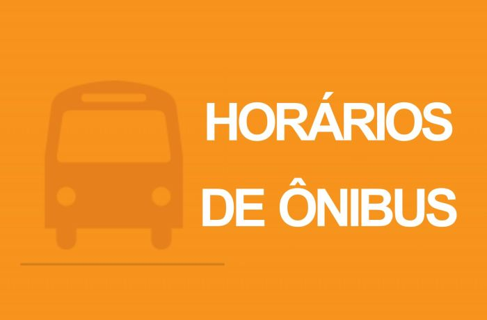 Mudança de horários de ônibus no fim do ano