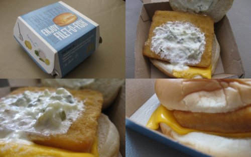 Grubgrade fast food review filet o fish from mcdonald s for Mcdonalds fish fillet