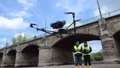 Professional-UAV-drone-based-bridge-inspection