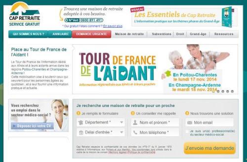 www.capretraite.fr vous aide à bien préparer votre entrée en maison de retraite.