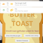 Smooth React Toast Notifications – Butter Toast