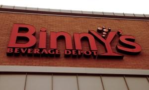 Best of CU's best place to buy liquor: Binny's in Champaign, IL. Photo by Liz Brinckerhoff