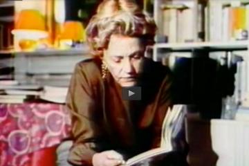 Apostrophes Les lectures de Jeanne Moreau