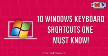 10 Cool Windows keyboard shortcuts