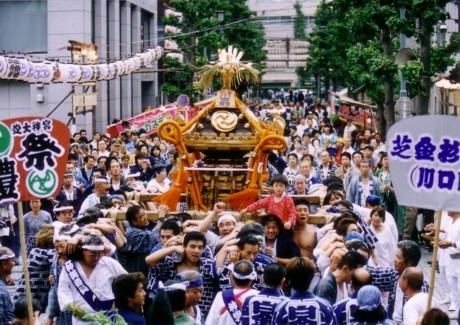 出典:芝大門「だらだら祭り」 - 新橋経済新聞
