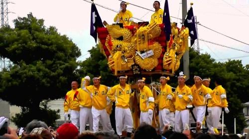 出典:新居浜太鼓祭り2013 大江vs中須賀 - YouTube